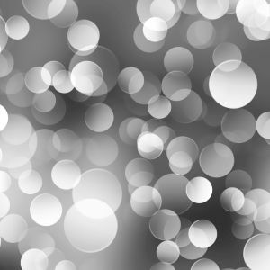 Gray Lights Bokeh