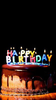 Free Mobile Wallpaper Happy Birthday Cake