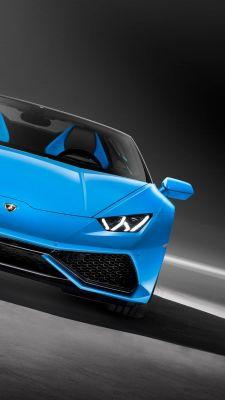 Blue Lamborghini Huracan Download Free Hd Mobile Wallpaper Zoxee