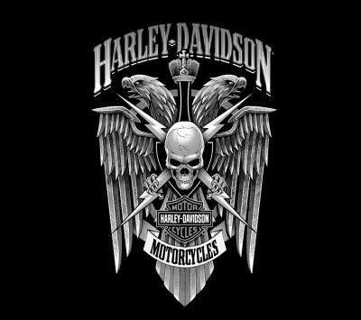 Harley Davidson Logo Download Free Hd Mobile Wallpaper Zoxee